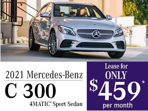2021 Mercedes-Benz C 300 4MATIC® Sport Sedan