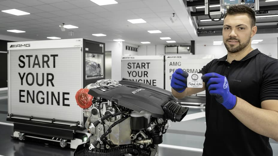 AMG Handcrafted Engine Production: M139 Engine