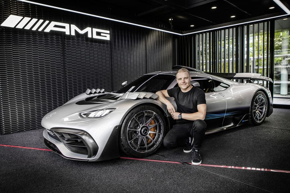 Exclusive hypercar production vehicle: Mercedes-AMG ONE