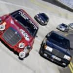 """""""Red Pig"""" racing car"""