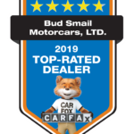 Bud Smail Motorcars Top Rated Dealer Award