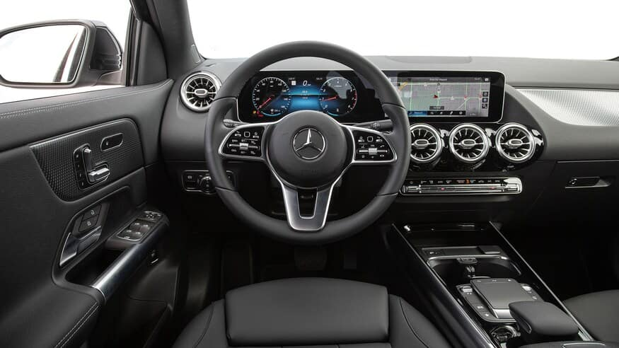 2021 Mercedes GLA 250 infotainment system