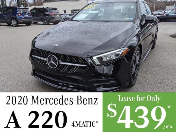 2020 Mercedes-Benz A 220 4MATIC