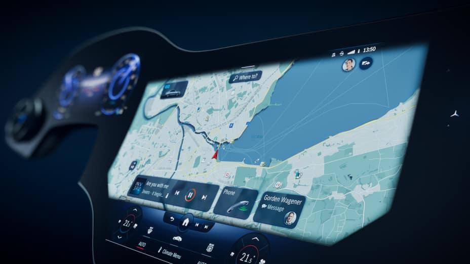 Hyperscreen navigation