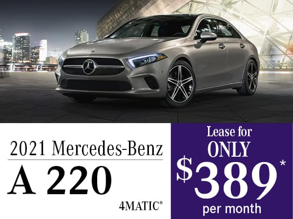 2021 Mercedes-Benz A 220 4MATIC