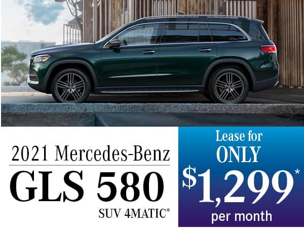 2021 Mercedes-Benz GLS 580 SUV 4MATIC®