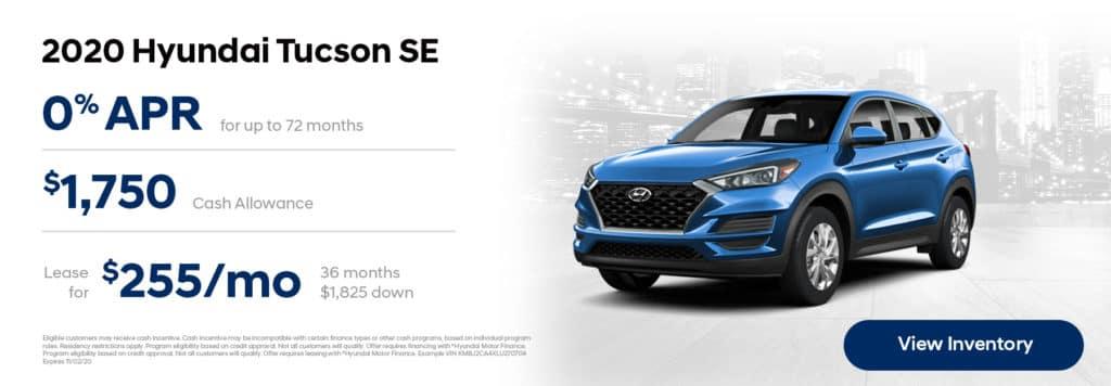 2020 Hyundai Tuscon Offers