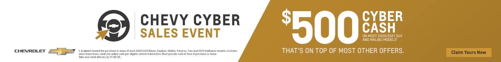 01_2020_NOVEMBER_ 500 CYBER CASH GENERIC_NATIONAL_1600x200 BANNER (1)