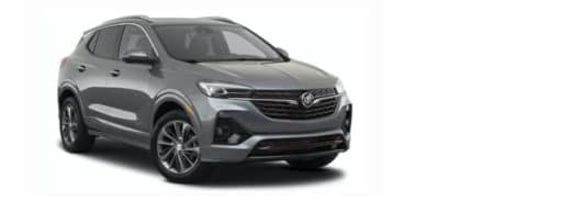 A grey 2021 Buick Encore GX is angled right.