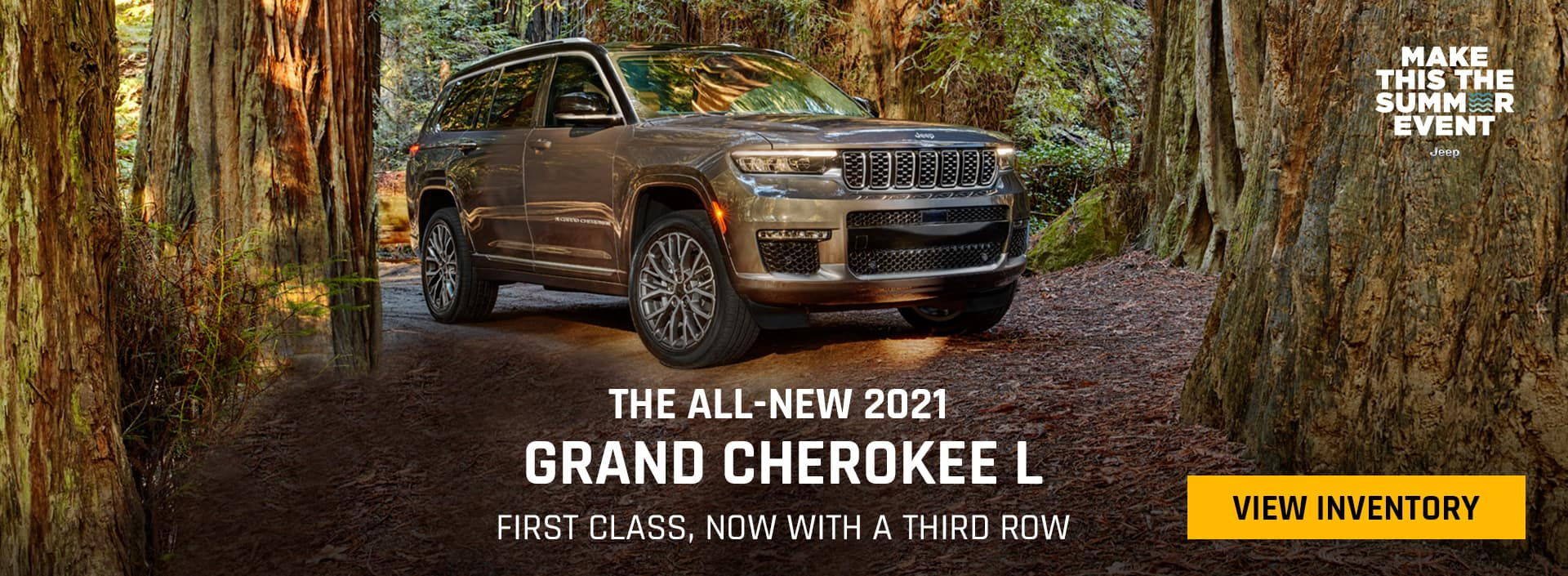 THE ALL-NEW 202 JEEP GRAND CHEROKEE L, FIRST CLASS, NOW WITH A THIRD ROW