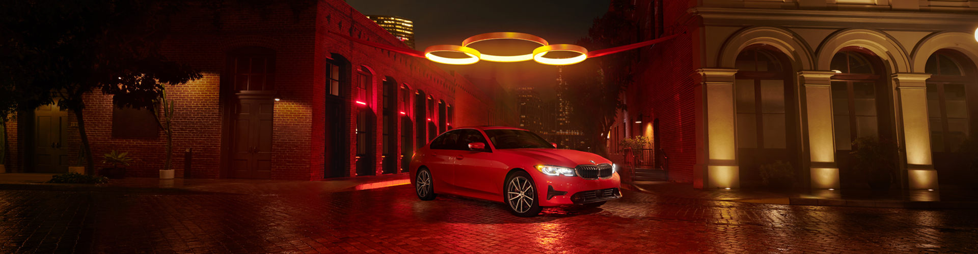 New BMW 3 Series - Red