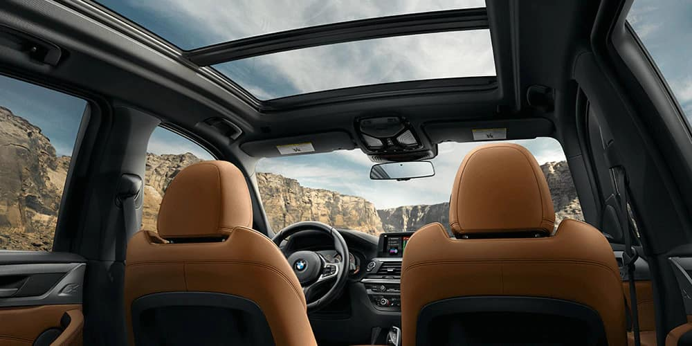 BMW X3 moon roof