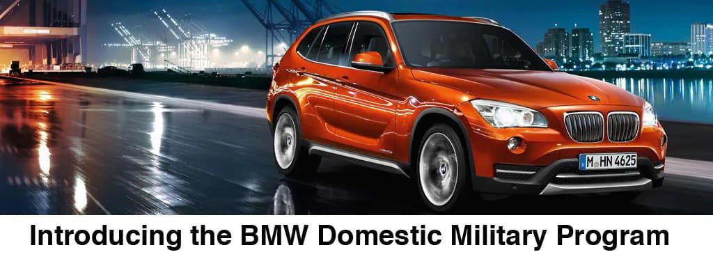 BMW DOMESTIC MILITARY PROGRAM