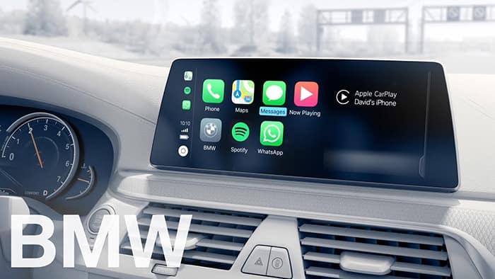 BMW Entertainment System - Featuring Apple CarPlay