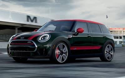 Red, white, and black mini