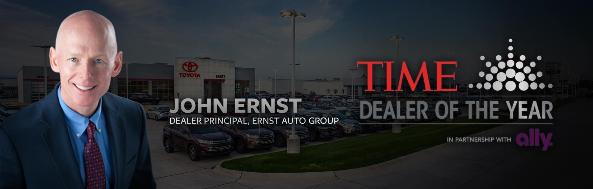 John Ernst, Time Dealer of the Year