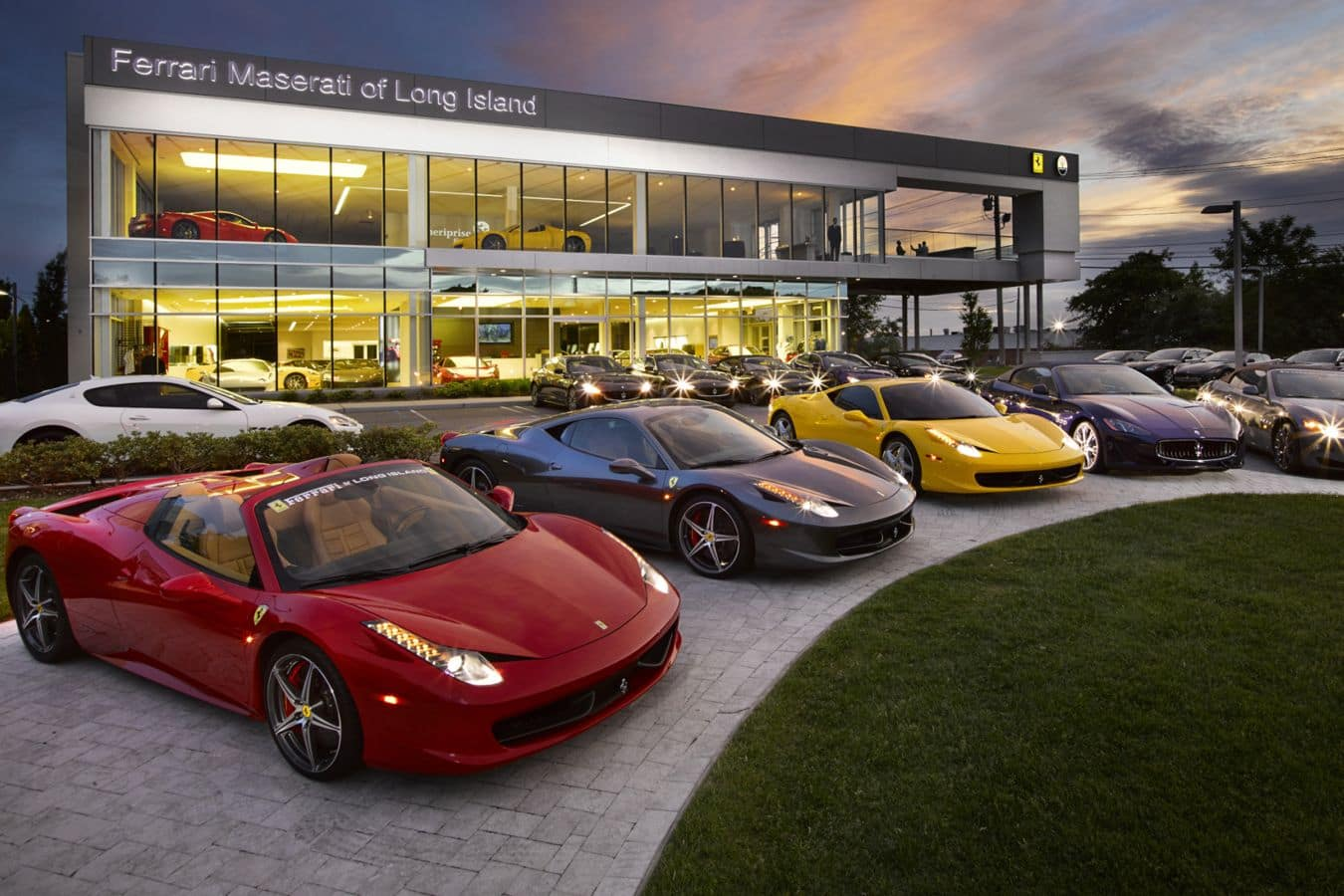 Ferrari Of Long Island Your Official Ferrari Dealership In Ny