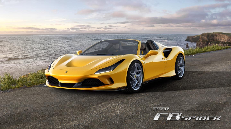 Test Drive the New Ferrari F8 Spider at Ferrari of Long Island