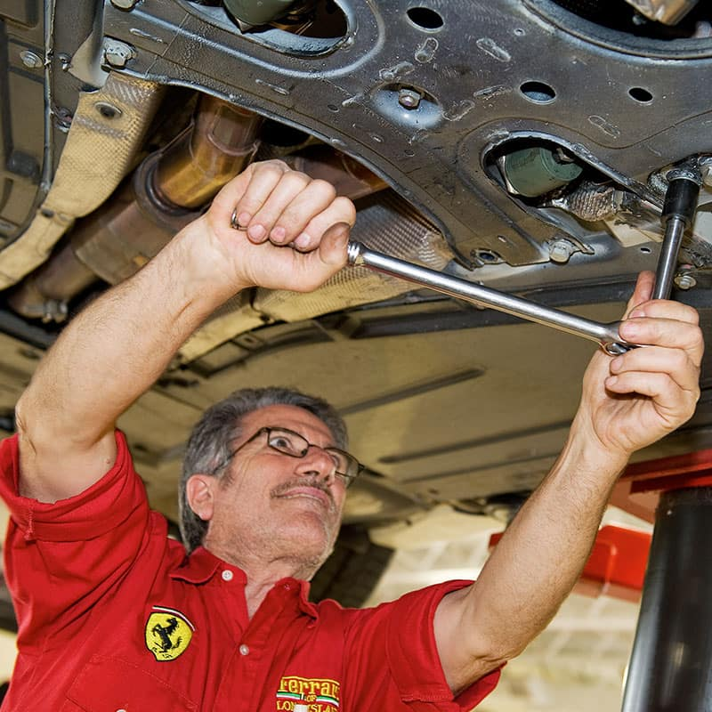 Ferrari Service in Long Island