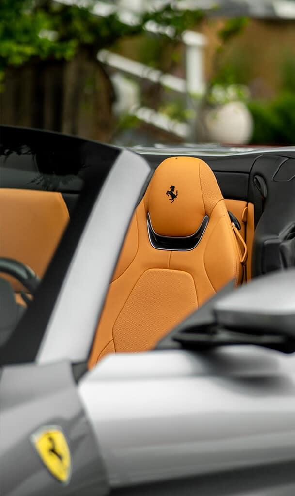 Ferrari Portofino M interior
