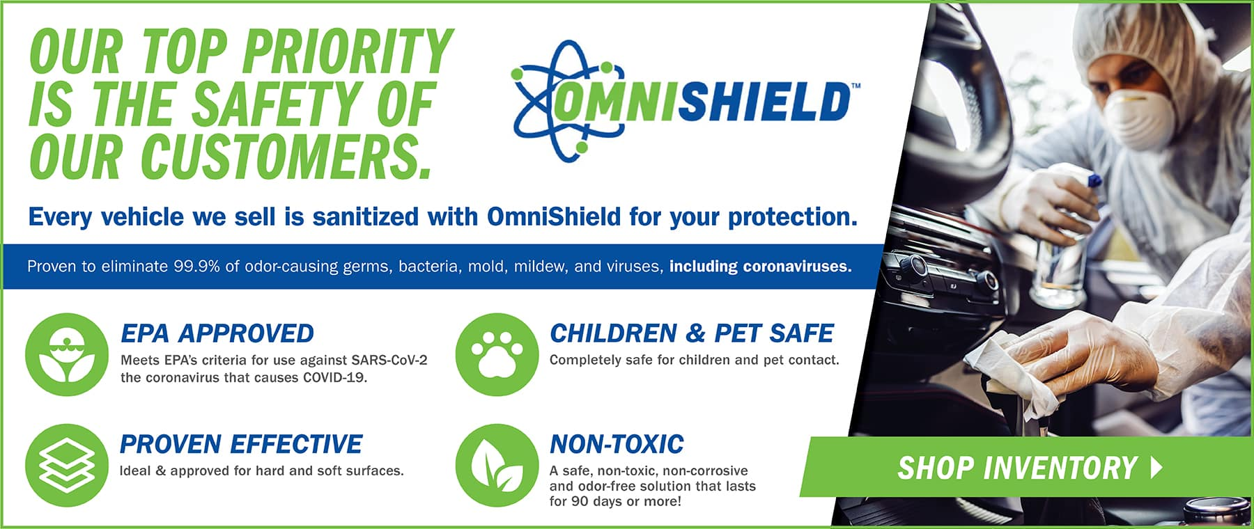 Omnishield Surface Protection Program