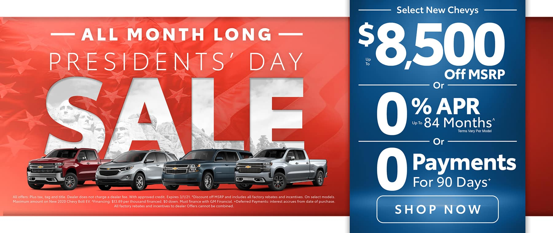 Chevy Sale