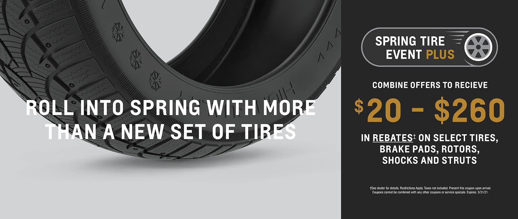 Spring Tire Event Plus