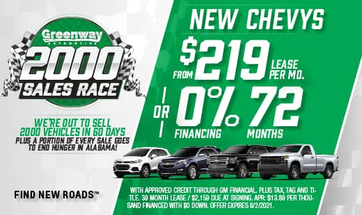 Greenway 2000 Sales Race
