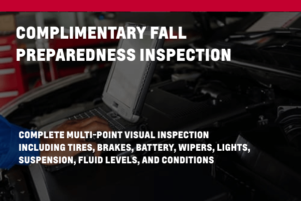 Complimentary Fall Preparedness Inspection