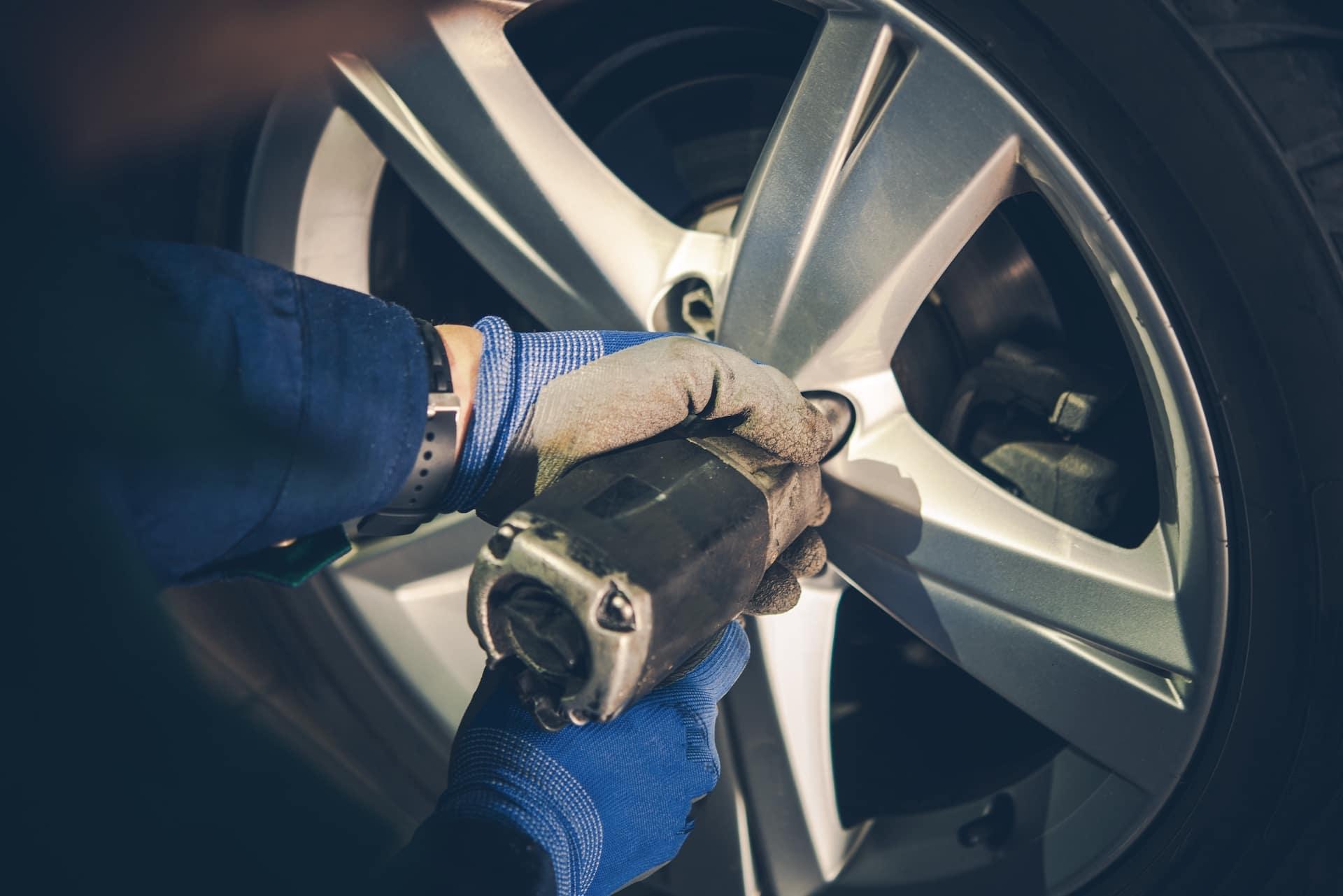 Halterman's Toyota is a Toyota Dealership near Neola, PA | Toyota mechanic changing tire