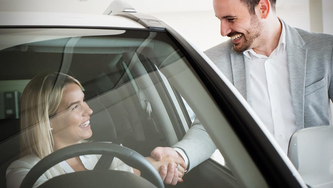 Halterman's Toyota is a Toyota Dealership near Cresco, PA   Customer and Sales Advisor Speaking in Dealership