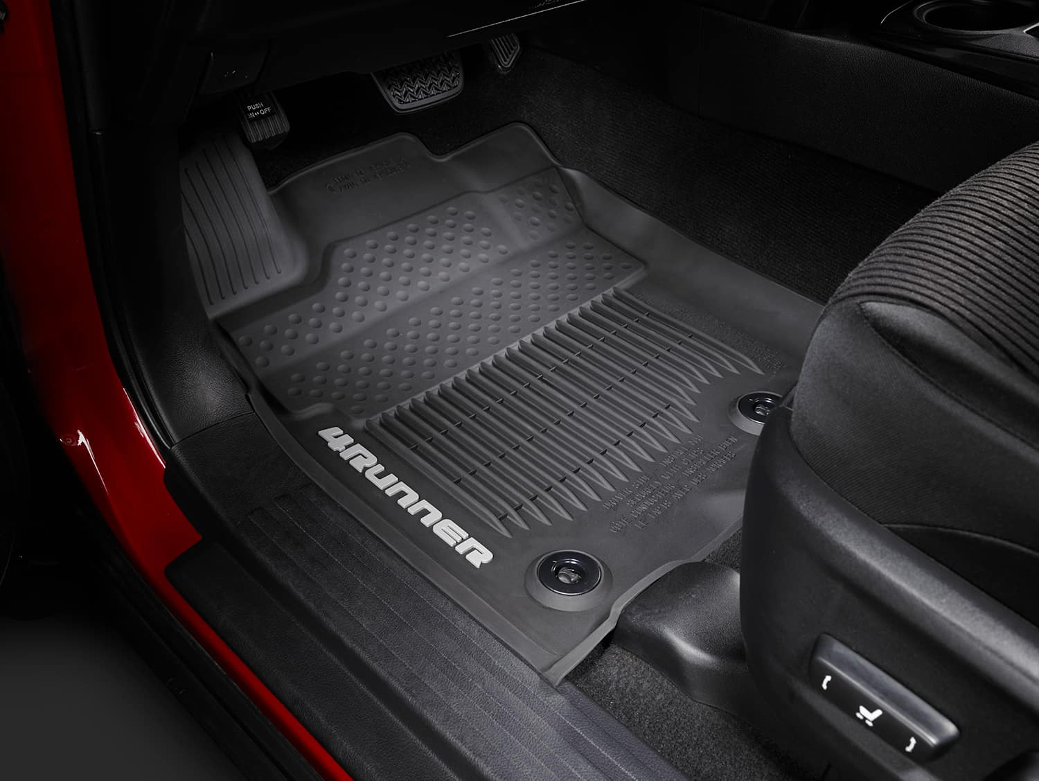 Accessories that help keep your Toyota protected at Halterman's Toyota in East Stroudsburg   All Weather Floor Mats for Toyota 4Runner