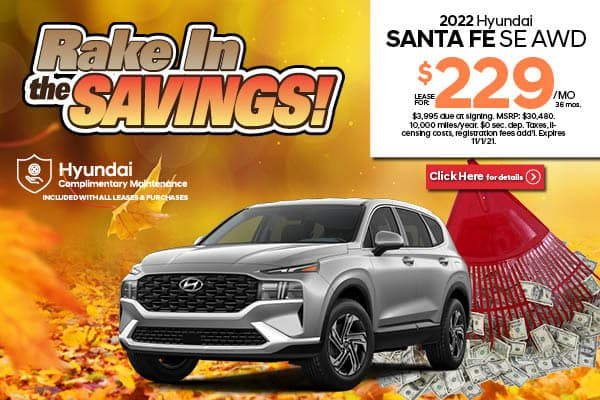 New 2022 Hyundai Santa Fe SE