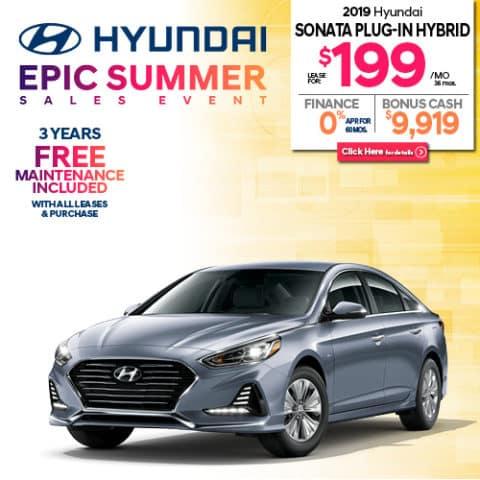 New 2019 Hyundai Sonata Plug-In Hybrid Base