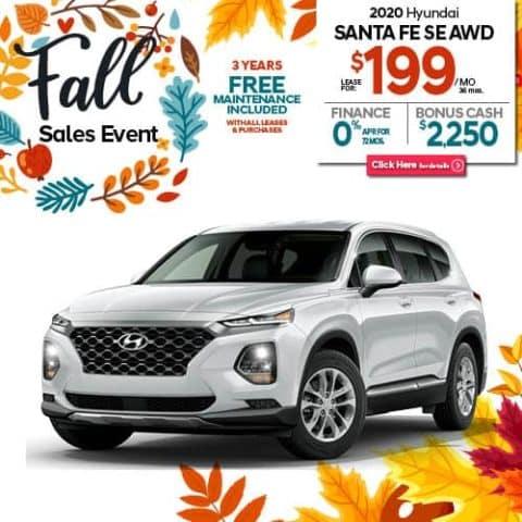 New 2020 Hyundai Santa Fe SE 2.4 AWD