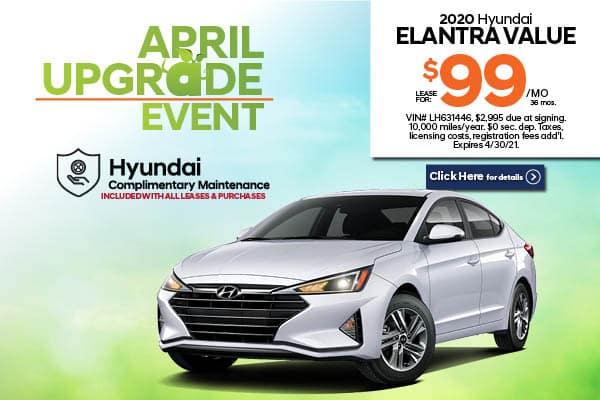 New 2020 Hyundai Elantra Value