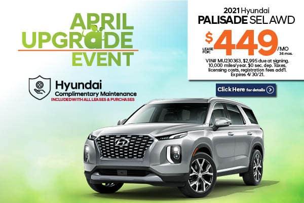 New 2021 Hyundai Palisade SEL