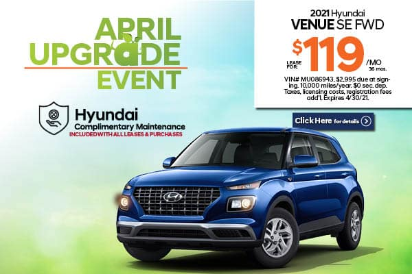 New 2021 Hyundai Venue SE