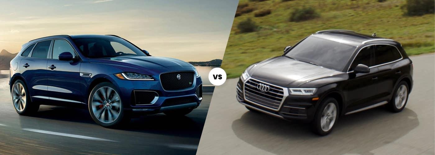 2020 Jaguar F-PACE vs. 2020 Audi Q5