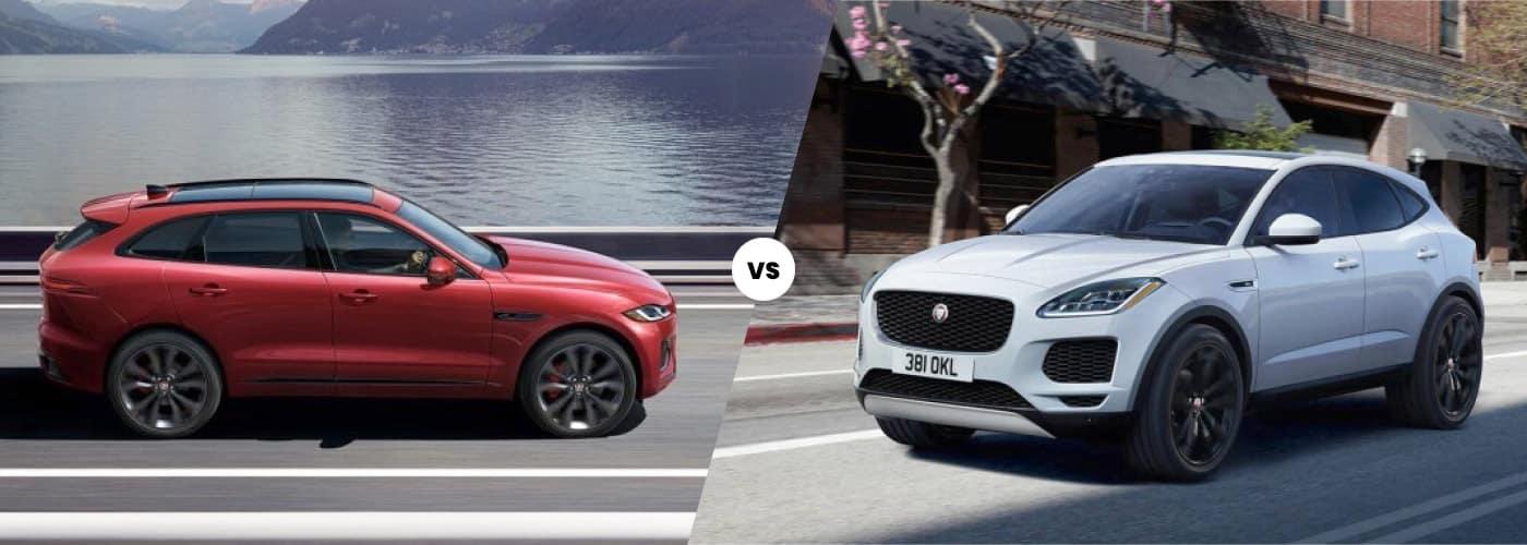 2021 Jaguar F-PACE vs. 2021 Jaguar E-PACE