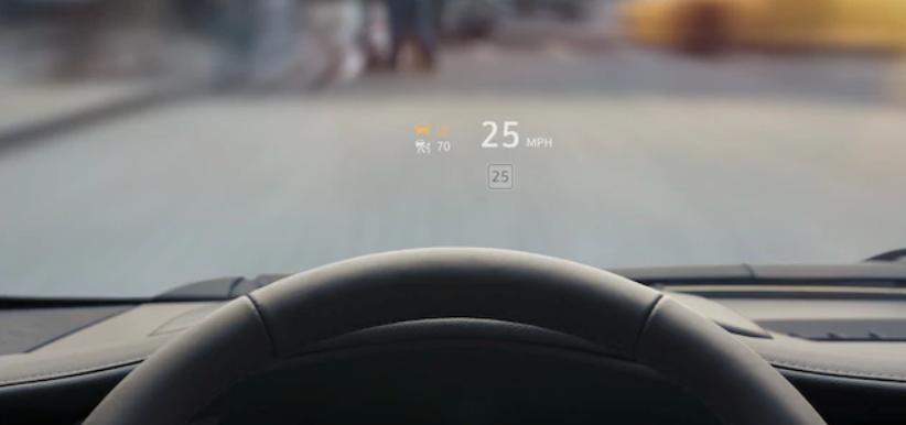 Head Up Display | Cadillac XT4