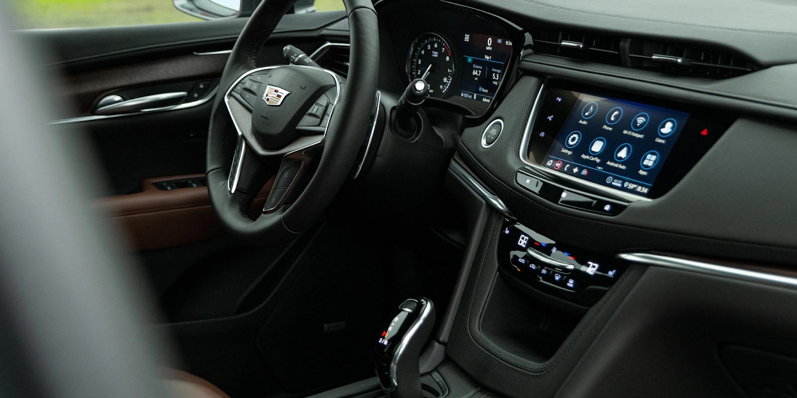 2021 Cadillac XT5 Technology Upgrades in Salt Lake City