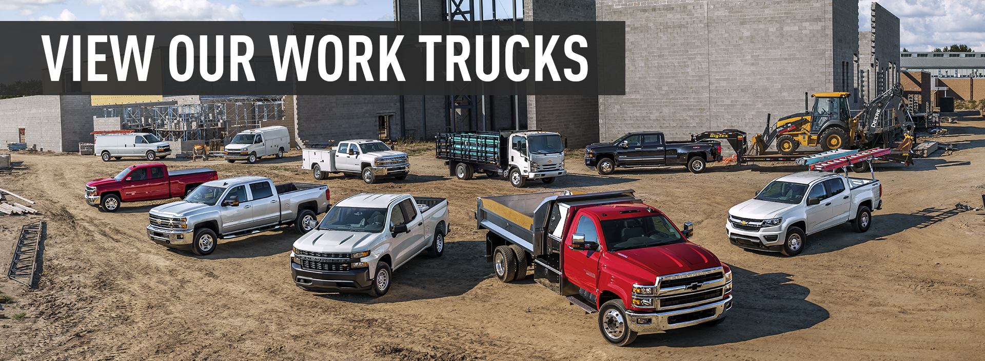 View Our Work Trucks