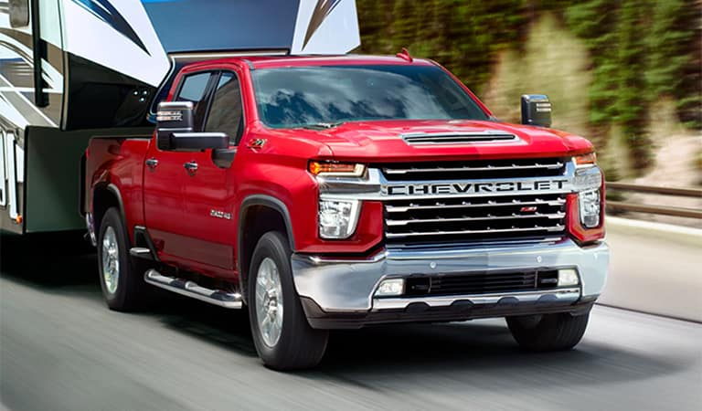 New Chevrolet Silverado HD