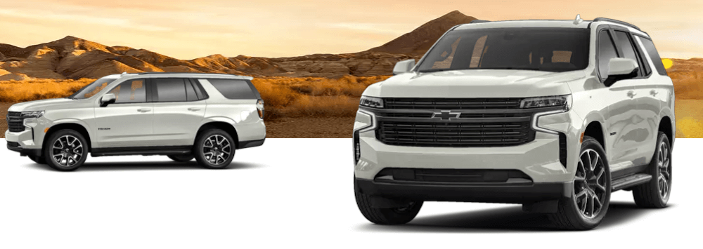 2021 Chevy Tahoe Redesign Banner