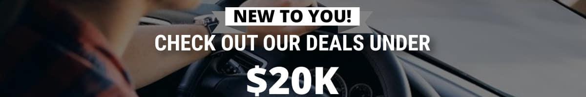 deals under $20k