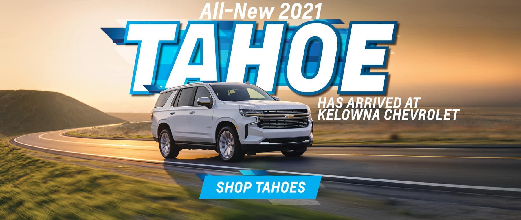 New 2021 Tahoe