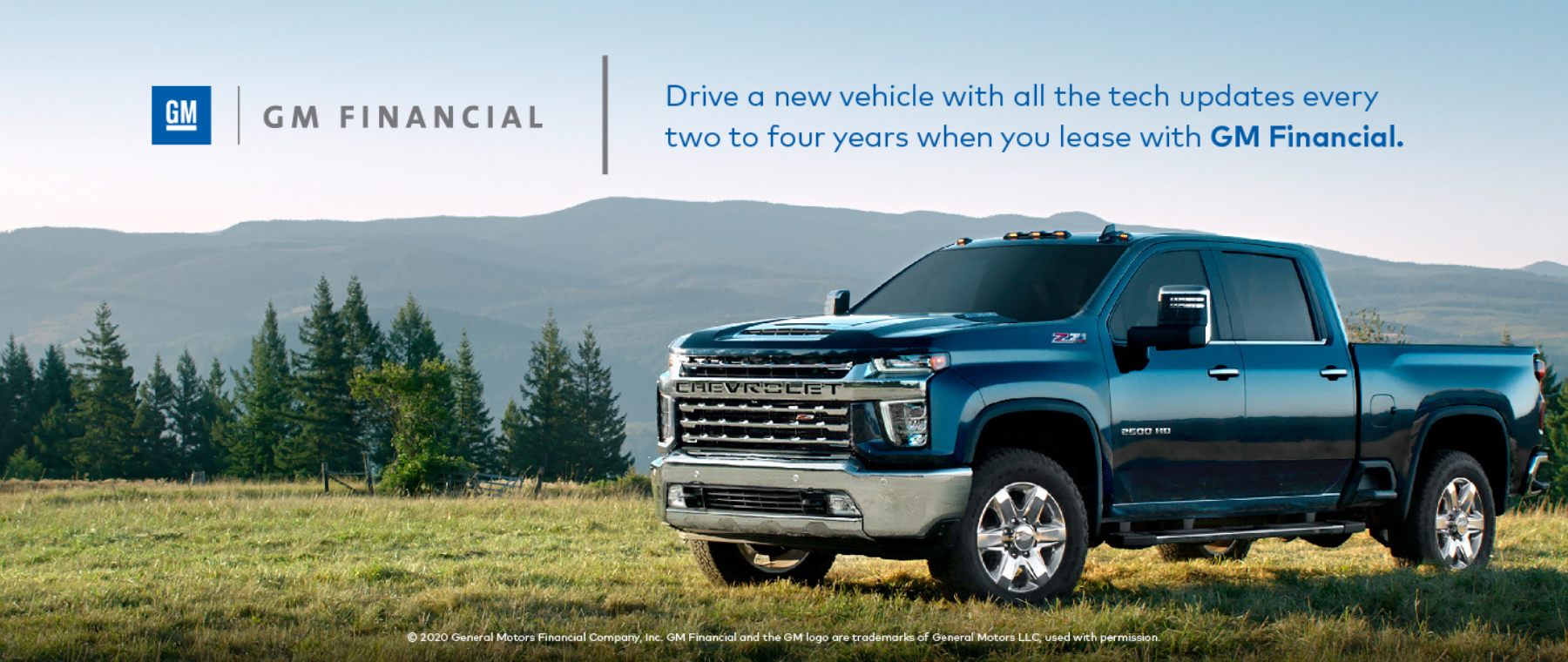 Chevy Lease Ad Web Banner