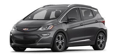 Black Chevrolet Bolt EV