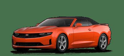 Orange Chevrolet Camaro